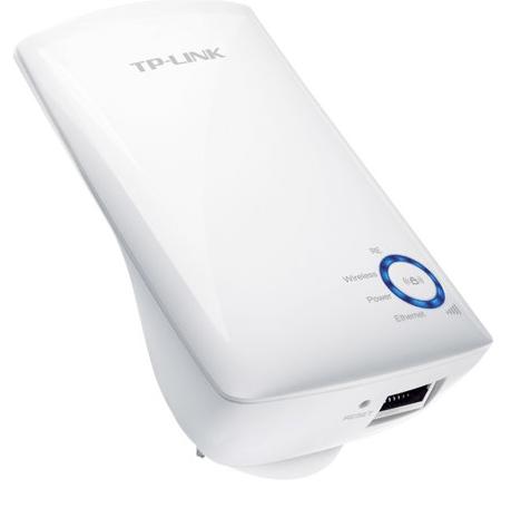 TP-Link 300Mbps Wifi extender med Ethernet stik