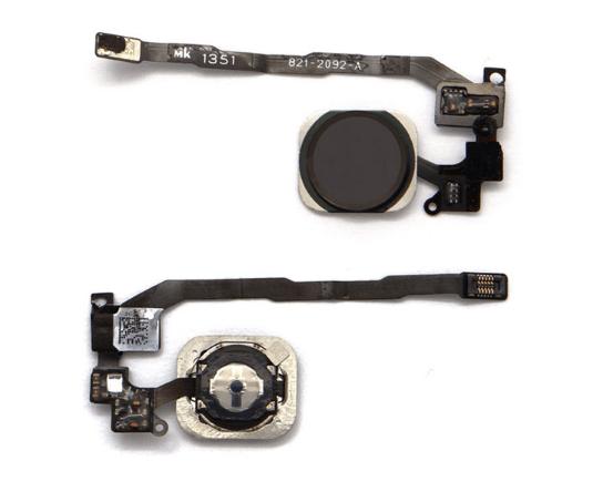 Image of   Kabel til hjemknap til iPhone 5s med hjemknap-Sort