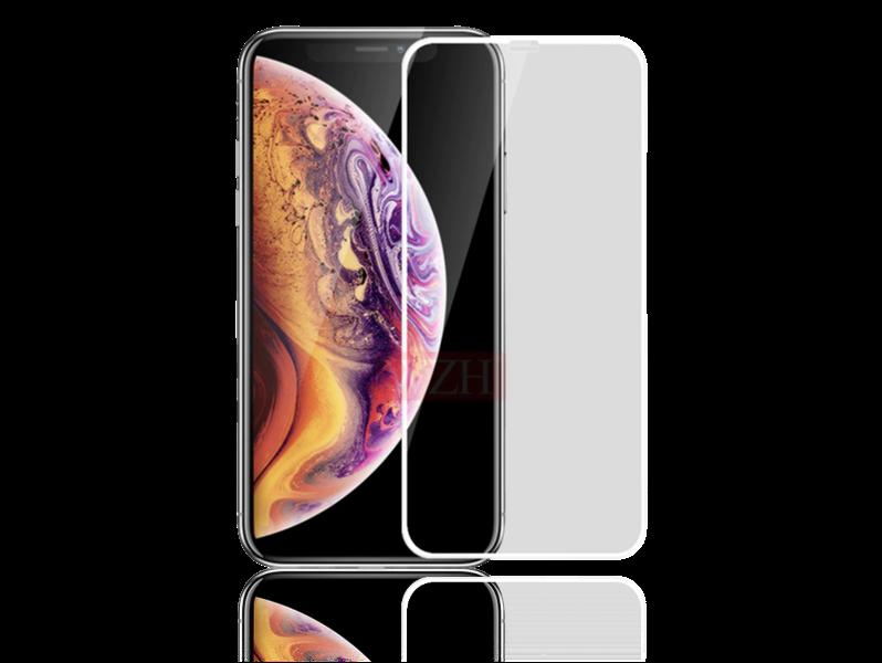 Image of   3D Hærdet Beskyttelsesglas til iPhone X/XS-Hvid