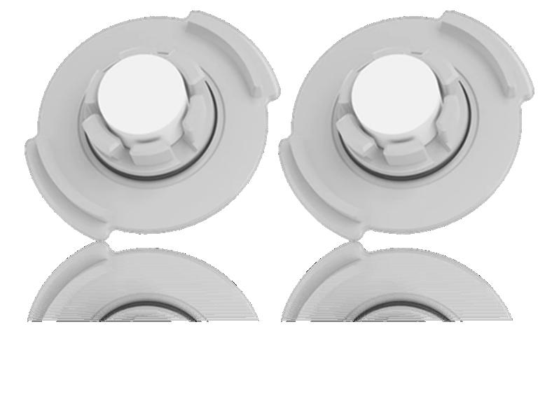 Image of   2x Vandfilter til Xiaomi Roborck