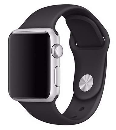Billede af Sportsrem til Apple Watch-Sort-38 mm