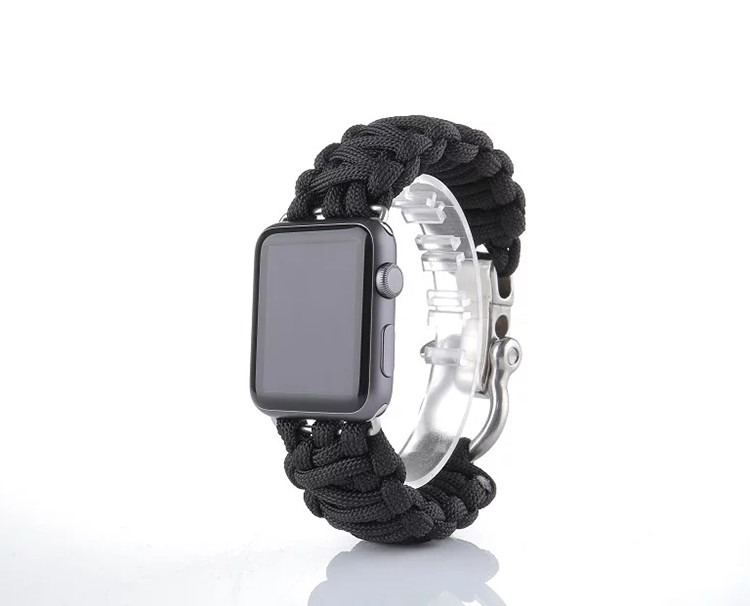 Image of   Sanya rem til Apple Watch-Sort-38 mm