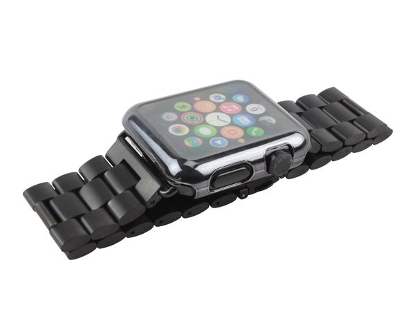 Image of   Apple Watch cover med skærmbeskyttelse-Sort-38 mm