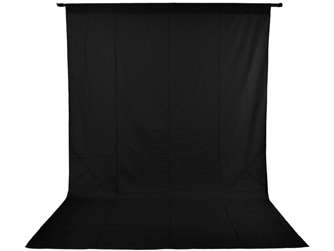 Image of   Foto Baggrund 150 x 200 cm-Sort