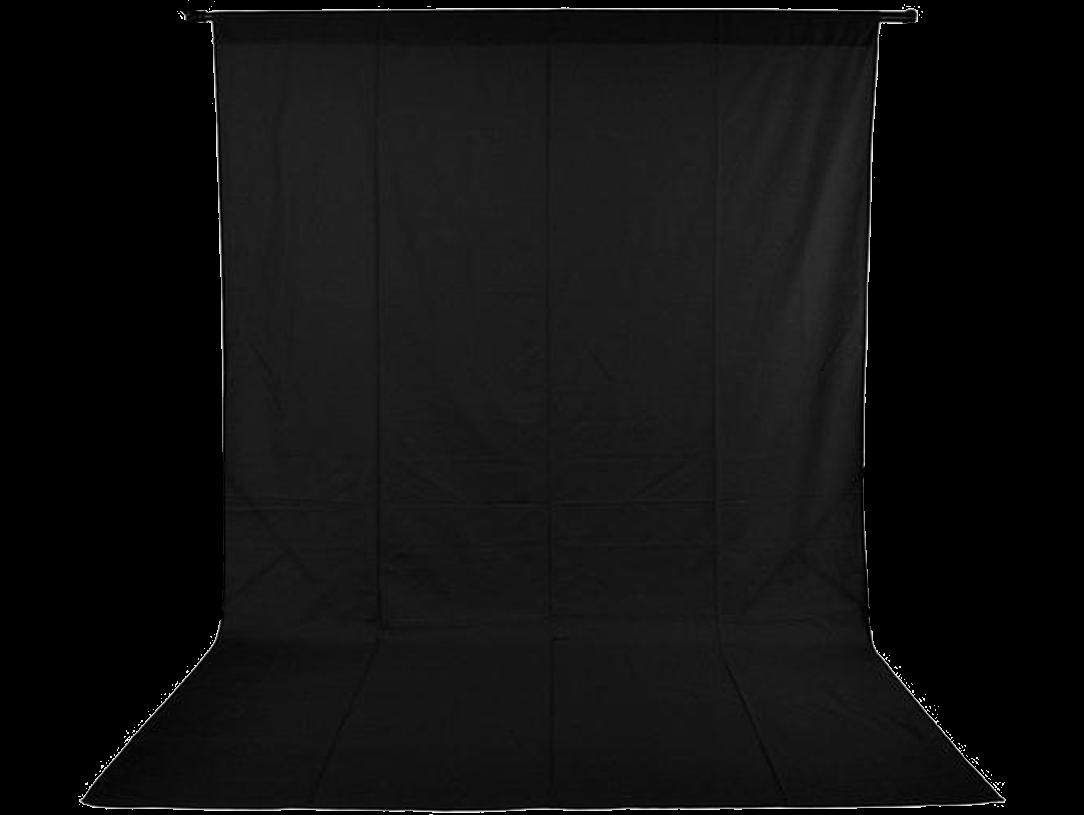 Image of   Foto Baggrund 150 x 400 cm-Sort
