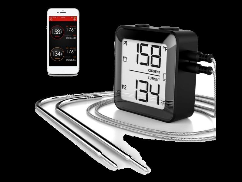 Image of   Digitalt Stegetermometer m. 2 Følere