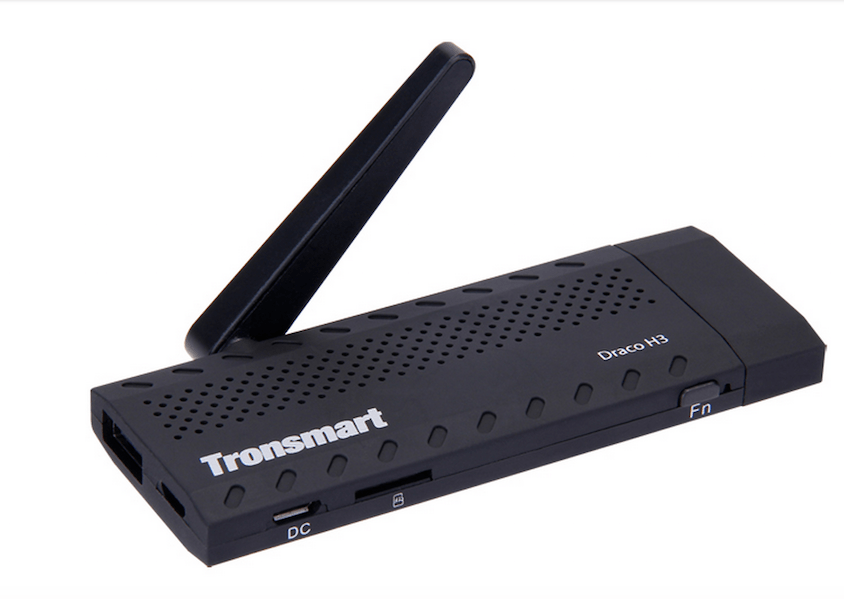 Tronsmart Draco H3 4K Android mini PC / Mediecenter