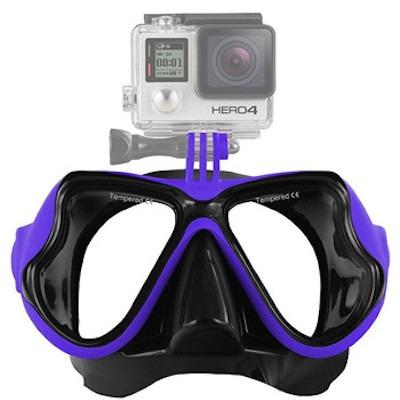 Billede af Dykkermaske til GoPro 4 / 3 / 2-Blå