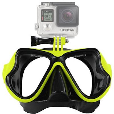 Billede af Dykkermaske til GoPro 4 / 3 / 2-Gul