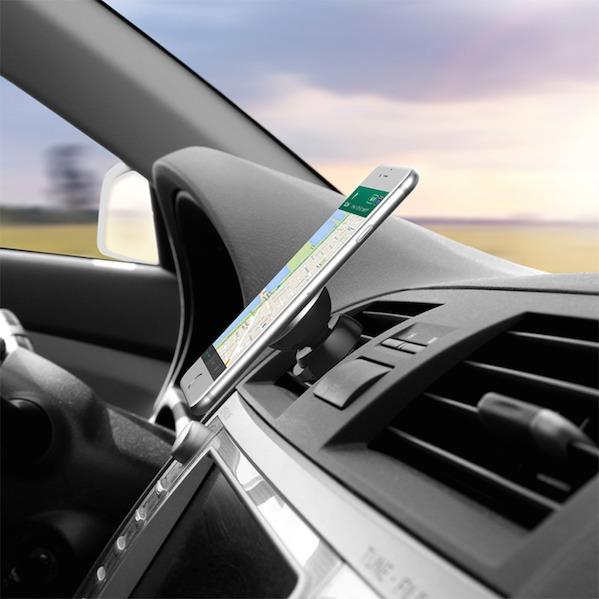 Magnetisk iPhone & mobil bilholder (passer til alle telefoner)