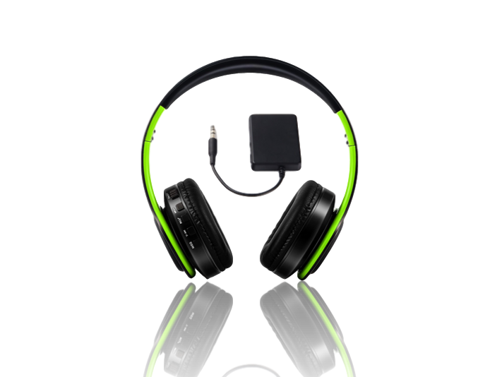 Image of   Sadao S710 Trådløst TV-Headset-Sort