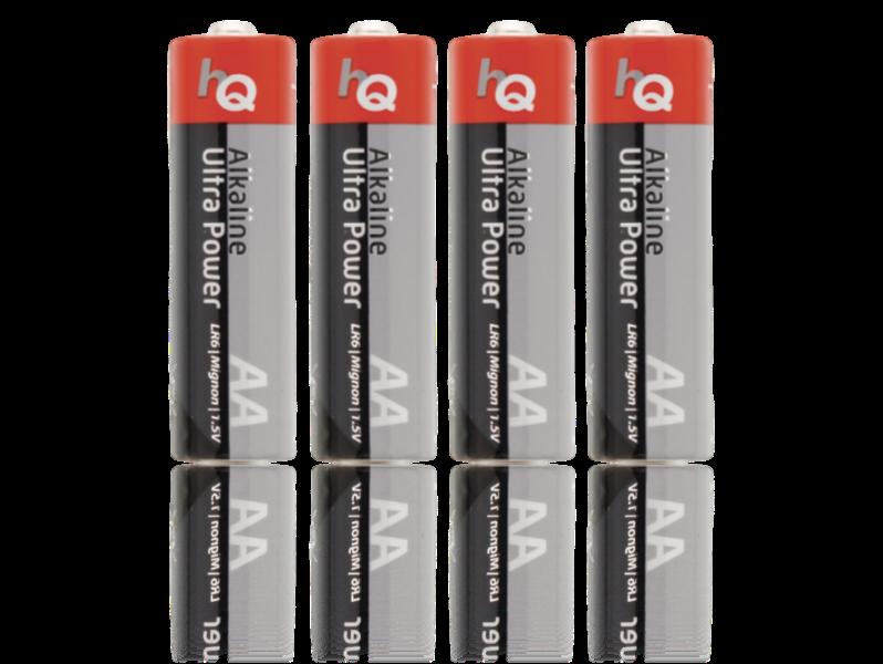 Image of   4-pak Alkaline AA Batterier