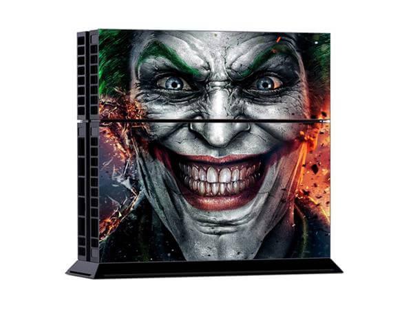 Image of   Sinister Smile Sticker til Playstation 4