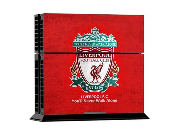 Image of   Liverpool FC Skin til Playstation 4