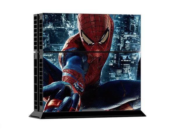 Image of   Spiderman skin til Playstation 4