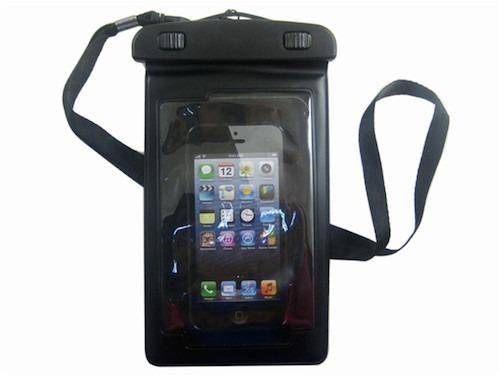 Vandtæt taske / etui til mobil