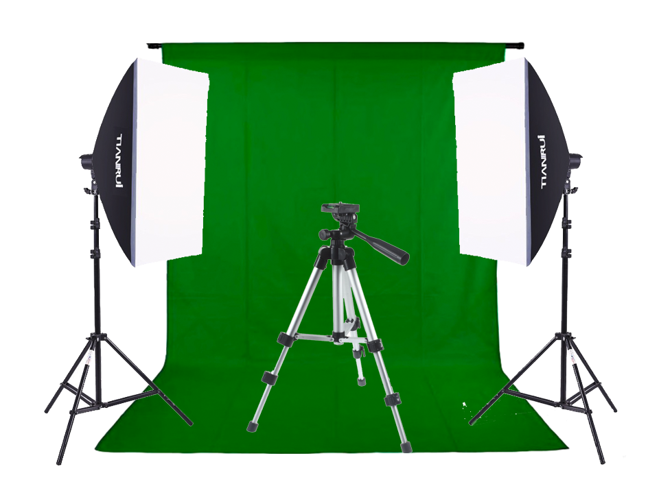 Image of   Green Screen ministudie