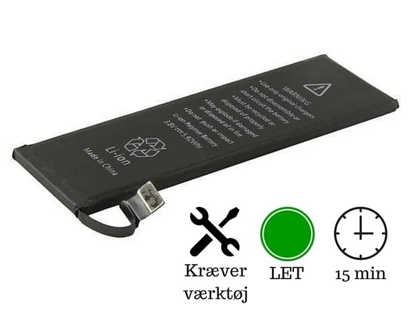iphone 5s skærm pris