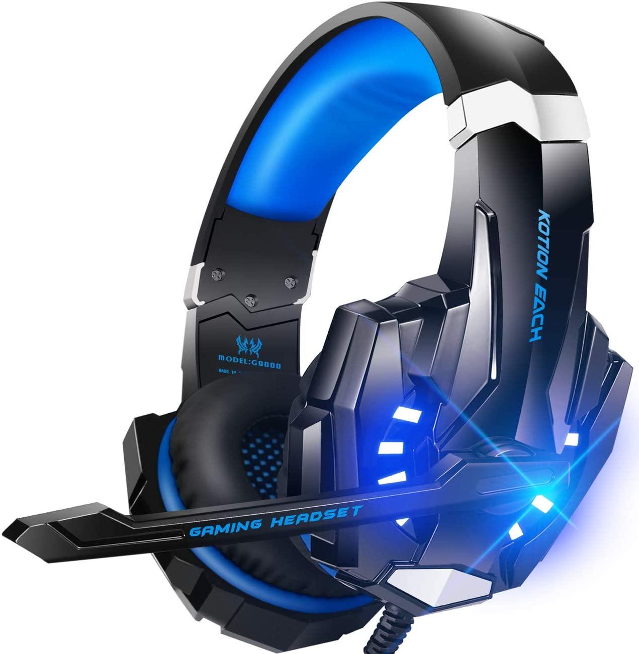 RGB LED Headset til PlayStation 5