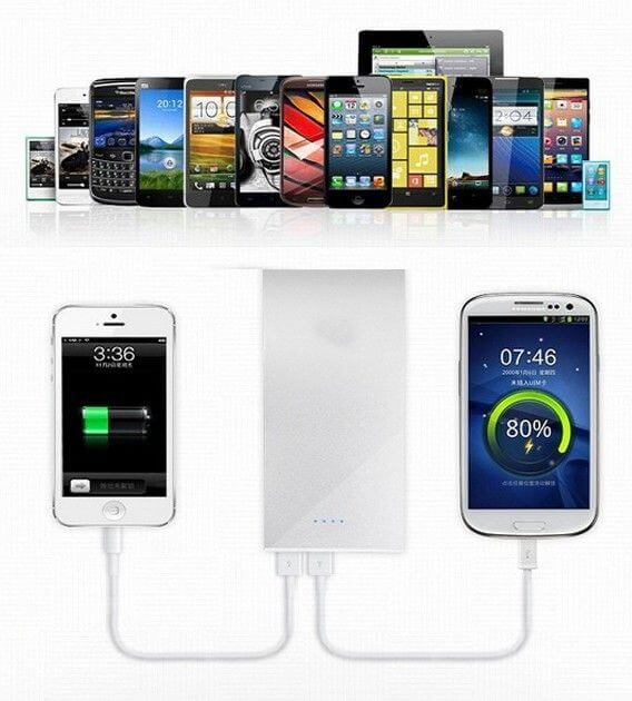 powerbank til iphone-mobil