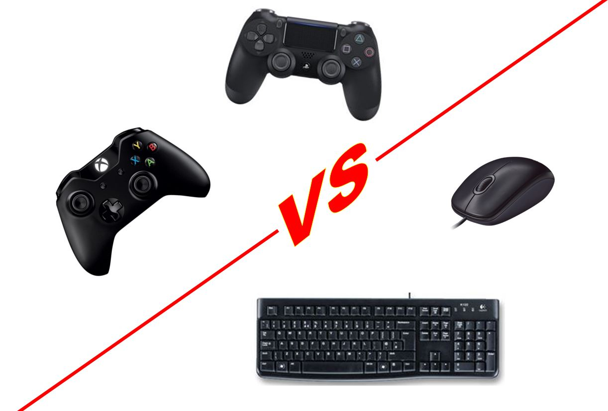 Controller vs Keyboard PS4 Fortnite