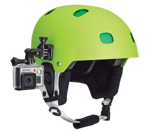 GoPro mount til hjelm