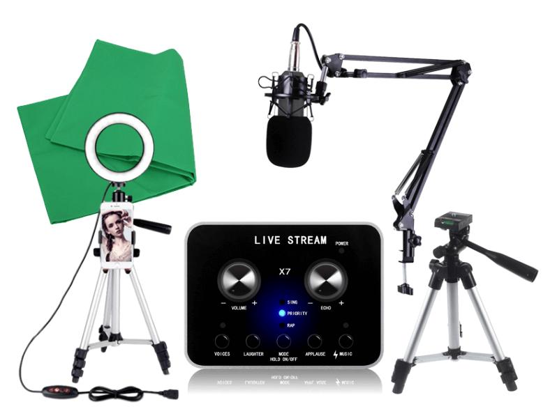 Elite Livestreaming Gaming udstyr
