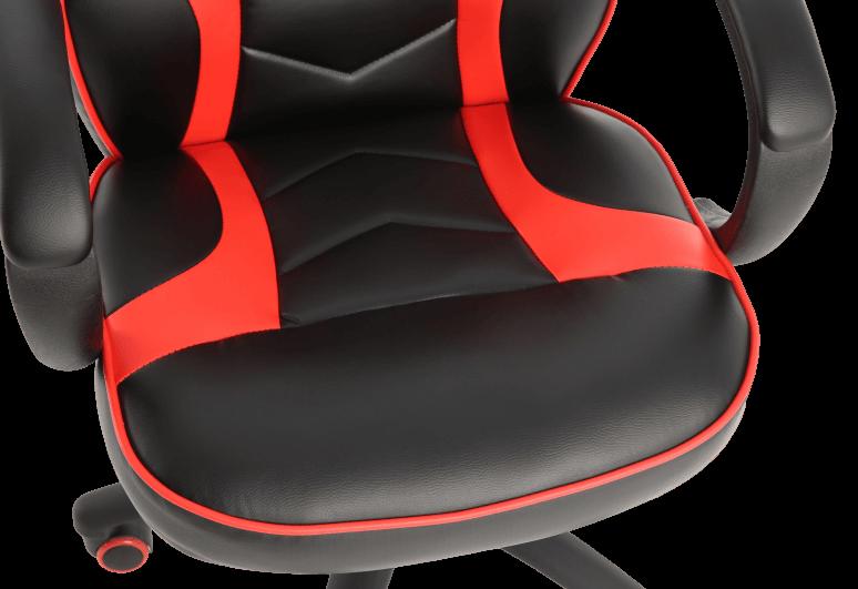 Læder gaming stol