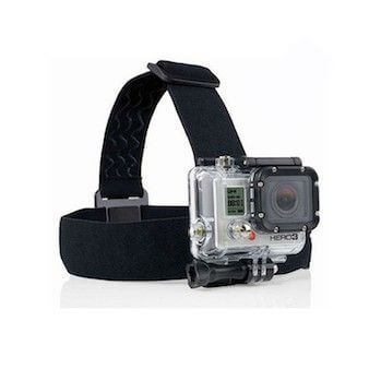 head strap mount til gopro hero