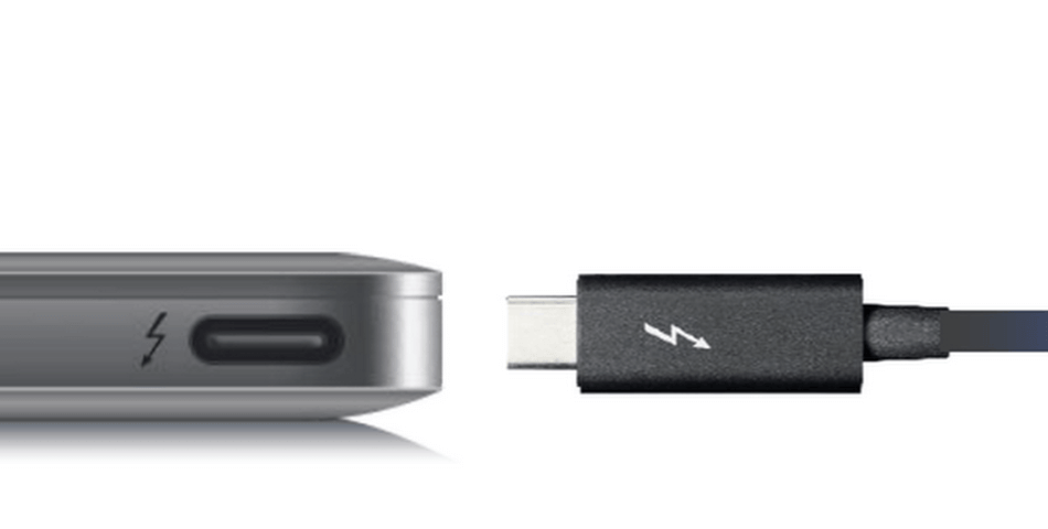 thunderbolt 3 til macbook