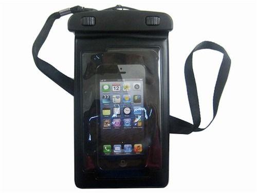 vandtæt taske til iPhone